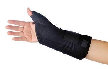 "8"" Memory Foam Universal Thumb Lacer"