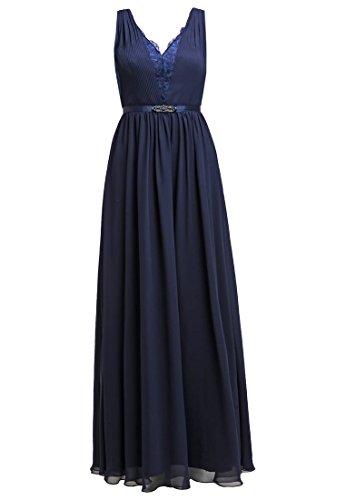 XL stormy Kleid blue Ballkleid Grösse Damen LAONA AFwUYY