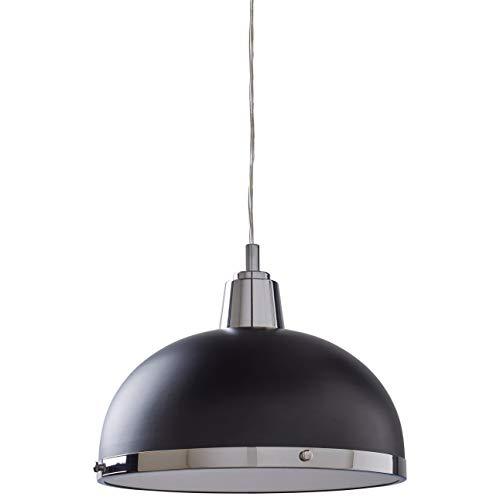 Black And Chrome Pendant Light