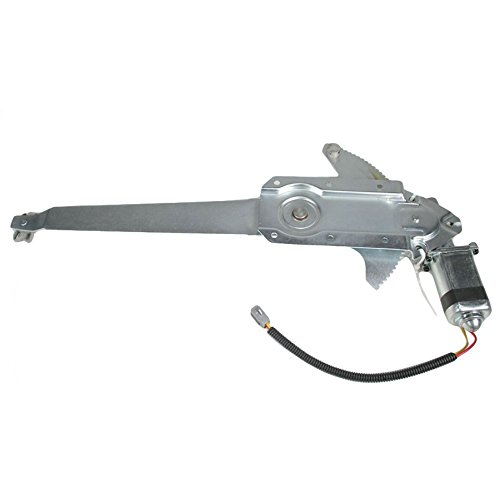 1990 Ford F-250 Window - Front Left Driver Side Replacement Power Window Regulator with Motor Assembly for Ford 1981-1996 Bronco F-150 F-250 F-350 & 1987 F-250 F-450 Super Duty & 1981-1983 F-100