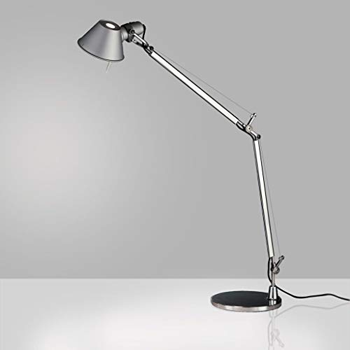 Artemide Tolomeo Table Lamp | with Base - Mini - Aluminum