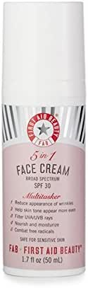First Aid Beauty 5-IN-1 Face Cream with SPF 30, 1.7 Ounce