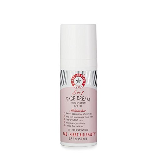 First Aid Beauty 5-IN-1 Face Cream with SPF 30, 1.7 Ounce (Best Face Cream With Spf)