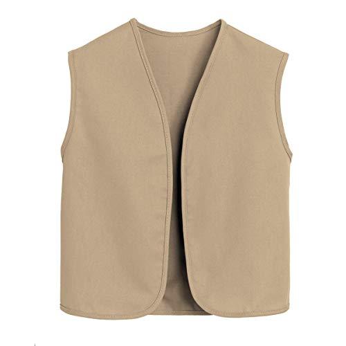Khaki Girl Scout - Official Cadette, Senior and Ambassador Khaki Vest