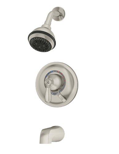 Symmons S-4702-STN-TRM Allura Tub/Shower Trim in Satin Nickel -