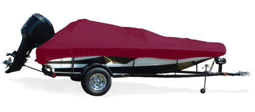 Tournament Bass Boats - TAYLOR MADE PRODUCTS Trailerite Semi-Custom Boat Cover for Tournament Style Bass Boats with Outboard Motor (15'5