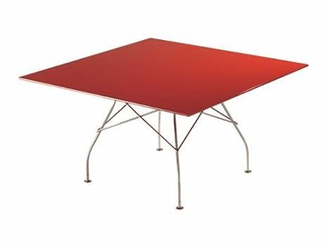 Kartell glossy tavolo rotondo bianco: amazon.it: casa e cucina