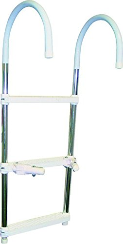 SeaSense 3-Step Boat Ladder (Seasense Boat Hook)