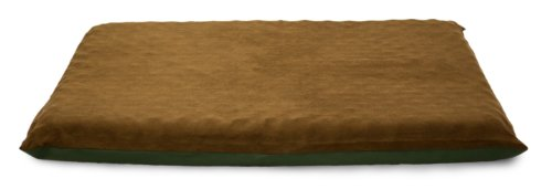 "Furhaven Pet Lg Suede Top Orthopedic Mat, Espresso, 33.5"" x"