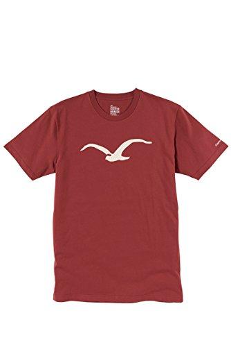 Möwe T-Shirt Größe: XL Farbe: Rot