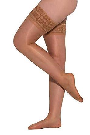 7f8cafbf94a Essexee Legs Women s Gloss Lace Top Hold Ups. EL400. 20DEN. 1 Pair ...