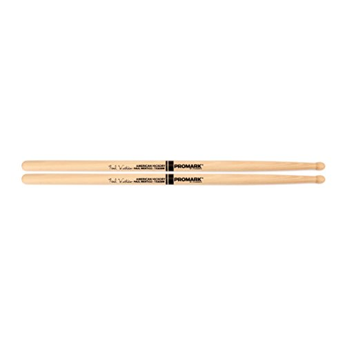 - Promark TX808W American Hickory Paul Wertico Autograph Series Model 808 Wood Tip, Single Pair