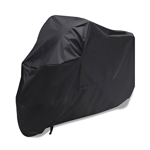 Rosenice Motorcycle Cover waterproof Heavy Duty for Winter Outside Storage XXL (Winter Cover Motorcycle)
