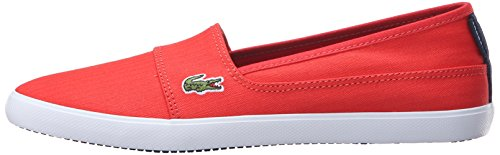 Lacoste Women's Marice 316 1 Spw Flat, Red, 7.5 M US