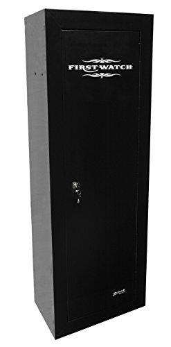 Homak HS30120100 10-Gun First Watch Steel Security Cabinet, Black