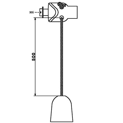 100 Edelstahl V2A Inbus Zylinderkopfschrauben ISO 4762 A2-70 M6x10
