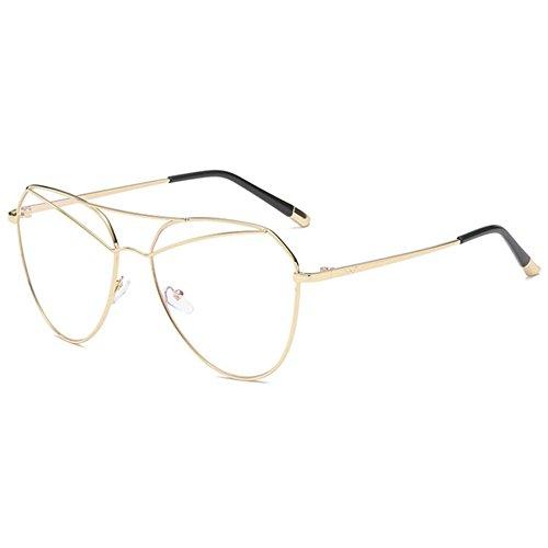 Aoligei La tendance des hommes et des femmes à la personnalité de lunettes de soleil lunettes de soleil lunettes de soleil rétro G