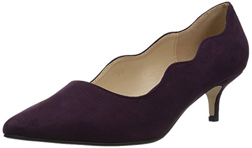 (Athena Alexander Women's Stormm Dress Pump, Purple Suede, 7.5 M US)