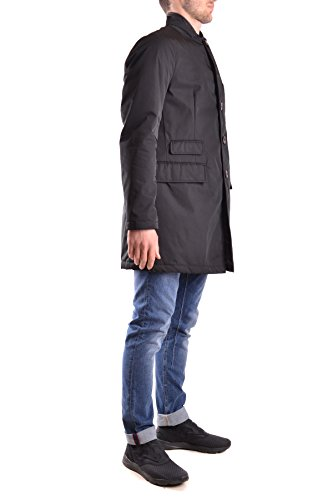 At.P.Co Cappotto Uomo MCBI329039O Poliestere Nero