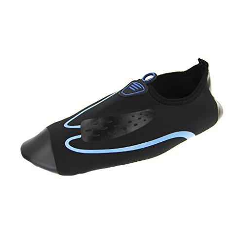 Schwarz Surf Yoga Strand Wassersportschuhe Badeschuhe Unisex Surfschuhe für Aquaschuhe Strandschuhe Schwimmen Blau1 Mehrfabe pvqaPTH