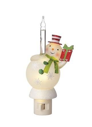 Wintry Fun Snowman Bubble Lites Night Light Midwest Cbk