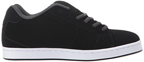 Mens DC Net SE Skate Shoe, Black/Grey, 18 D D US