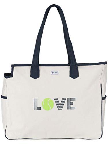 Ame & Lulu Love All Court Bag - Lulu Grass
