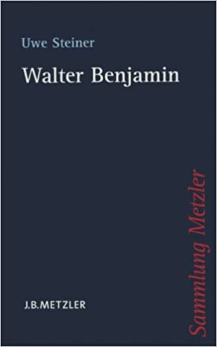 Walter Benjamin (Sammlung Metzler)