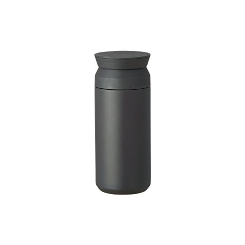 Kinto Travel Tumbler – Insulated Bottle Black 12oz- Double Walled And Vacuum Insulated, Which Keeps Your Favorite Beverage Hot Or Cold For Hours