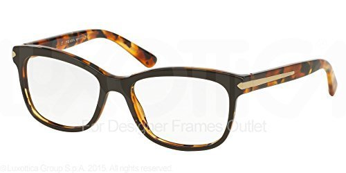 131d5d50bb Prada ARROW PR10RV Eyeglass Frames UBS1O1-55 - Top Brown   Havana at ...