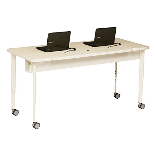 "Explore Voltea Mobile Computer Table (24"" W x 84"" L)"