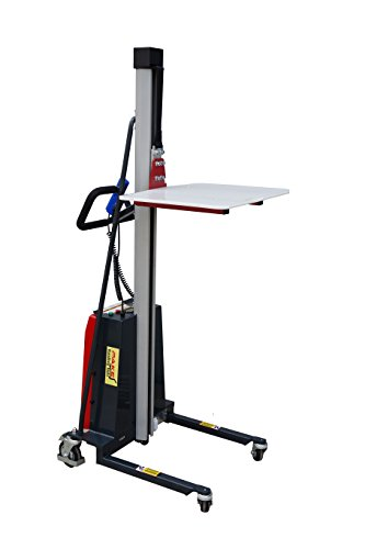 - Pake Handling Tools - Electric Work Positioner Lift Truck, 330 lbs Capacity