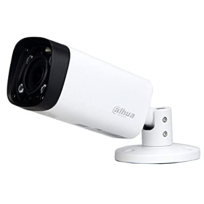 Dahua IPC-HFW4431R-Z 2.7mm~12mm VF Lens 4MP Varifocal PoE IP Security Camera Bullet Motorized 4x Optical Zoom Super HD 2592×1520 Outdoor Surveillance Camera with 80m IR,Smart H.265,ONVIF,Waterproof by dahua