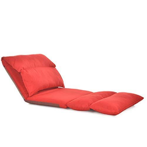 怠惰なソファ寝室リビングルームシングル畳長方形折りたたみ洗えるレジャーフローティングウィンドウチェアベッドチェア B07SXSVXJG Style Six