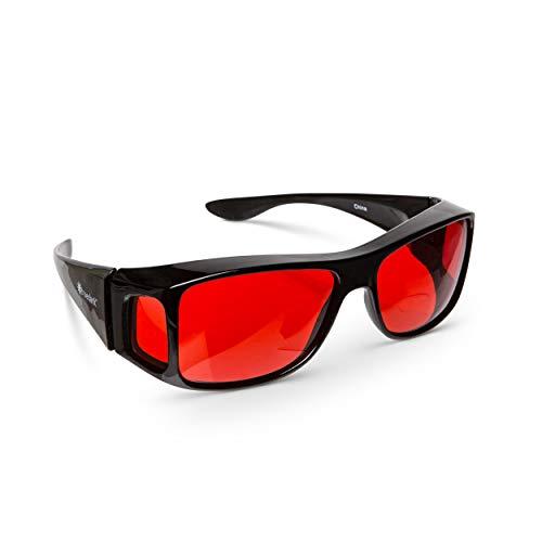 TrueDark Sleep Hacking Fitovers - Protect Your Eyes from Harmful Junk ()