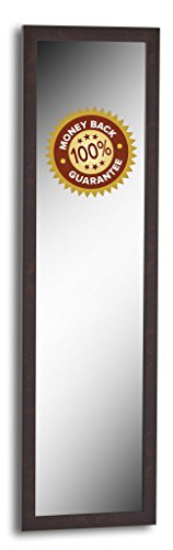 In Style Furnishings Classic Over The Door or Wall Mount Full Length Mirror - 15
