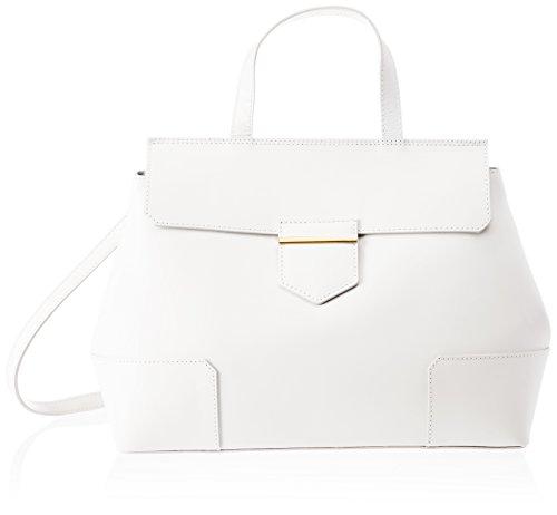Chicca Borse 8697 - Bolso de hombro Mujer Blanco (White White)