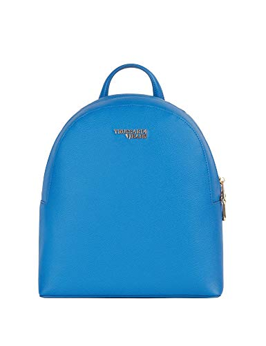 Trussardi Jeans Women's Light Medium Backpack Light Blue ()