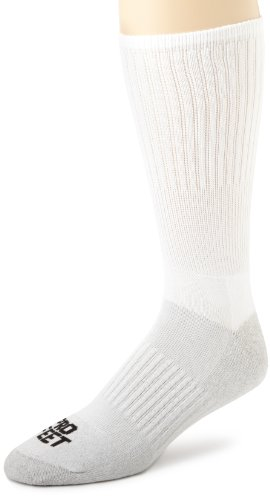 (Pro Feet Performance Multi-Sport Silver Tech Crew Sock)