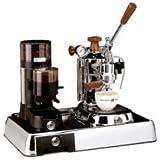 La Pavoni Chrome Combo set 2: : La Pavoni Professional PLH, La Pavoni Kaffemühle JDL und La Pavoni Grundplatte