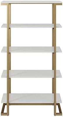 Editors' Choice: CosmoLiving Camila 5 Shelf Bookcase