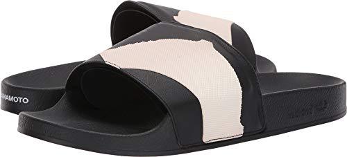 adidas Y-3 by Yohji Yamamoto Unisex Y-3 Adilette Slide Core Black/Core Black/Footwear White 9.5 M UK