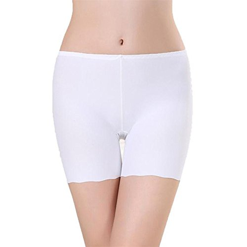 ink2055 Women Seamless Ruffle Short Skirt Safety Pantie Underwear