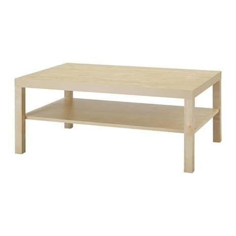 Ikea Lack - Mesa de café de Madera de Abedul; (118 x 78 cm ...