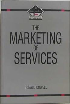Book Marketing of Services (CIMA Professional Handbook)