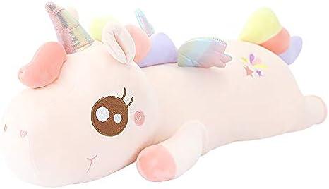 jinda Unicorno Cavallo abbracci Bambola Peluche Peluche Giocattoli Carino Bambola Principessa Bambola 60 cm E