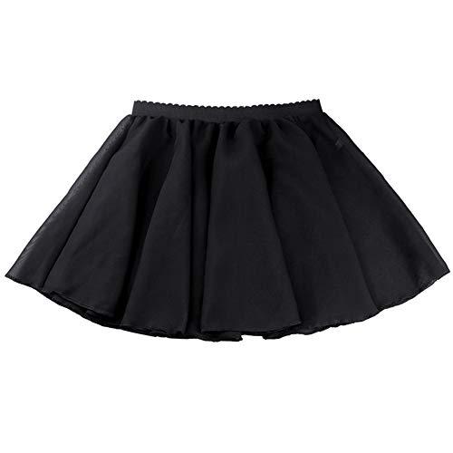 ce Basic Classics Chiffon Wrap Skirt Black Size 4T-6X ()