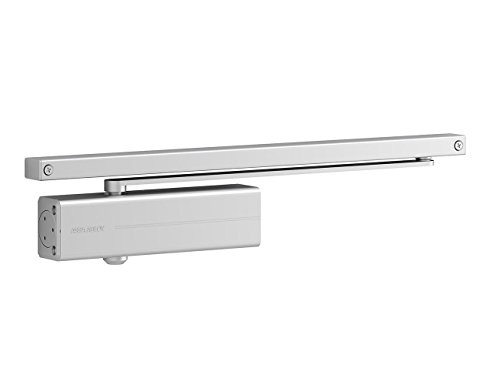 Tesa Assa Abloy dc135-dev1 Sliding Guide Door Closer DC135, Silver
