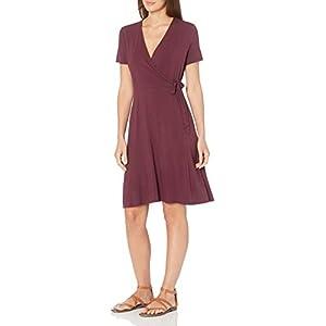 Best Epic Trends 31facljlHpL._SS300_ Amazon Essentials Women's Cap-Sleeve Faux-wrap Dress
