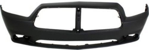 Crash Parts Plus Primed Front Bumper Cover Replacement for 2011-2014 Dodge (Dodge Charger Replacement Parts)